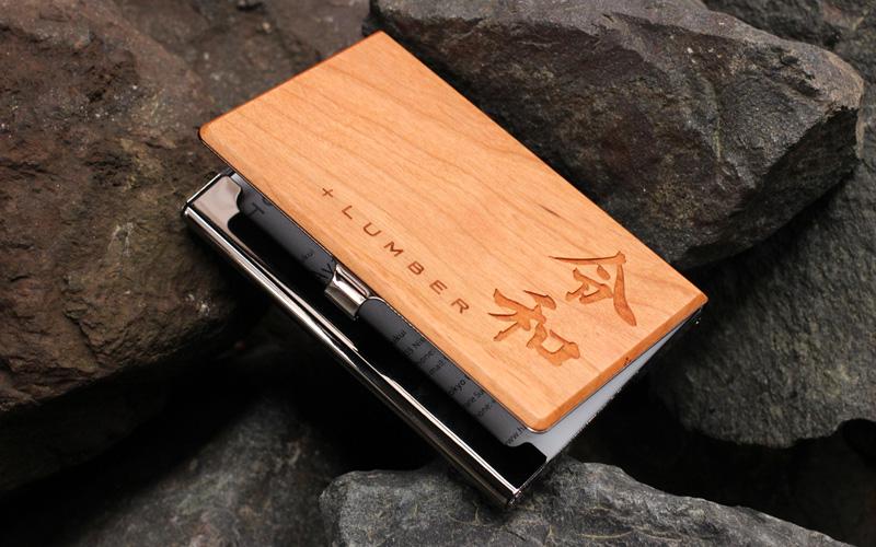 【令和・平成】元号を刻印した木製カードケース・名刺入れ