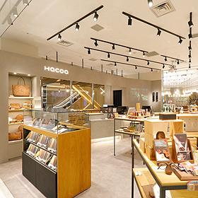 渋谷の木製雑貨店
