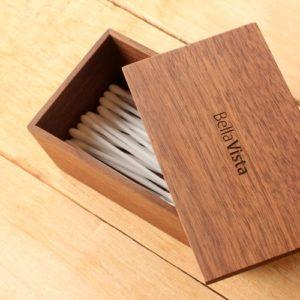 「CutleryBox」をカスタマイズした綿棒ケース