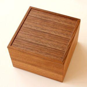 「重箱」をカスタマイズした木製ボックス