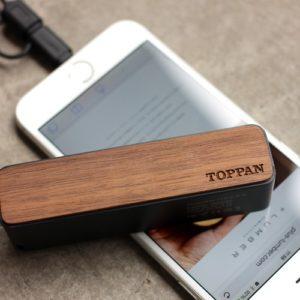 凸版印刷様 VIP顧客向け記念品 モバイルバッテリー