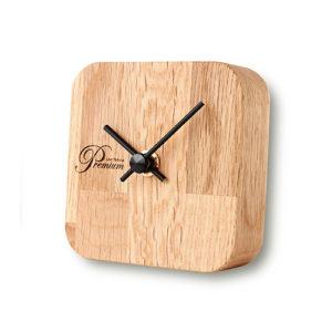 取扱品とストーリーを関連付けた置時計