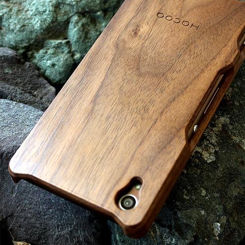 Xperia 木製ケース製作