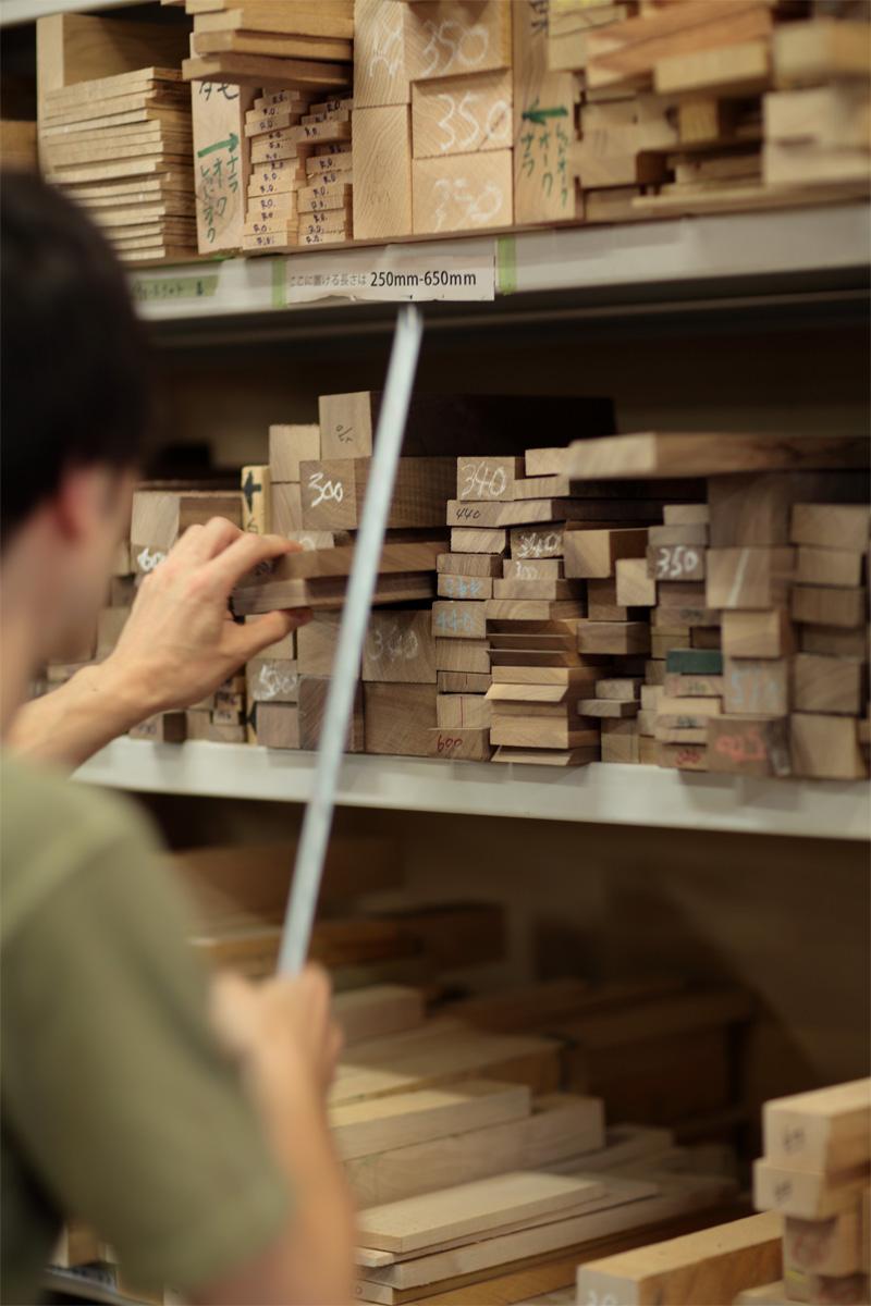 ウォールナットの木材