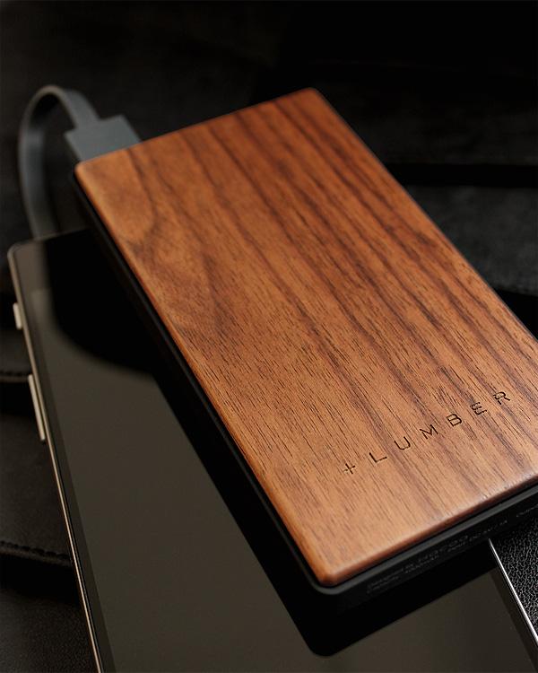 木製パワーバンク・モバイルバッテリー