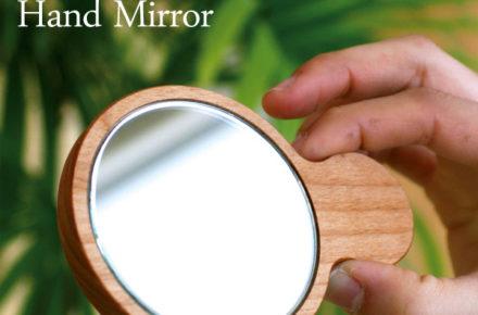 小さくてかわいい手鏡・コンパクトミラー「Hand Mirror」