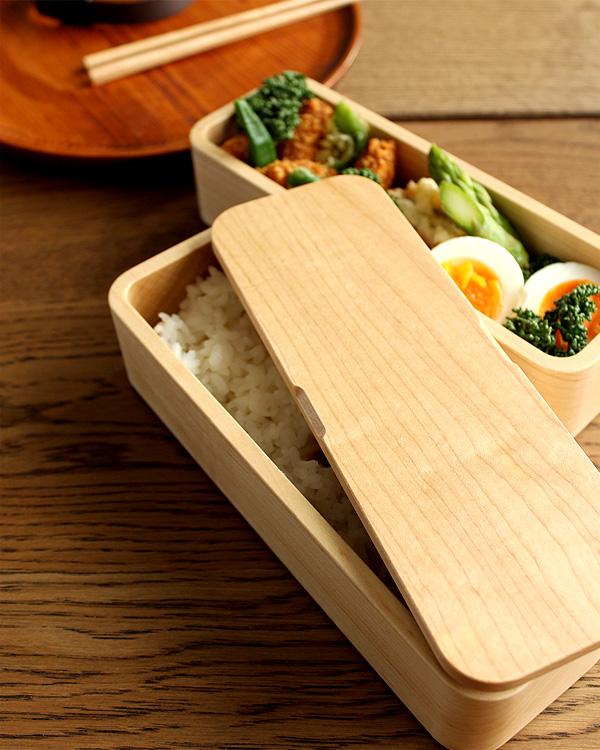 お昼ごはんが楽しみになる木のお弁当箱