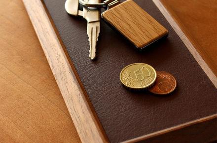 銘木を使用した高級感ある木製トレイ