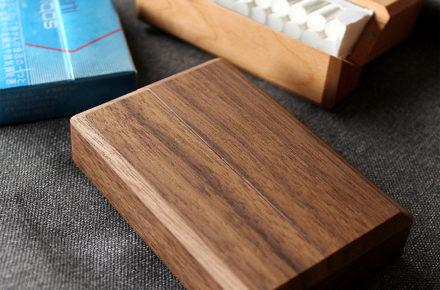 木のアイコスヒートスティックケース「IQOS HeatSticksCase BOX-IN」