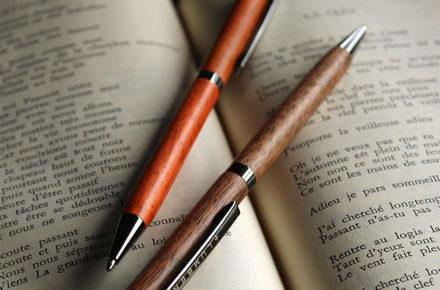 世界に一つだけの木製ボールペン「SLIM BALLPOINT PEN TWIST」