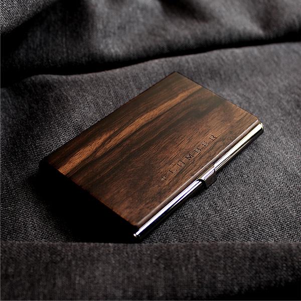 おしゃれで美しい木製名刺入れ